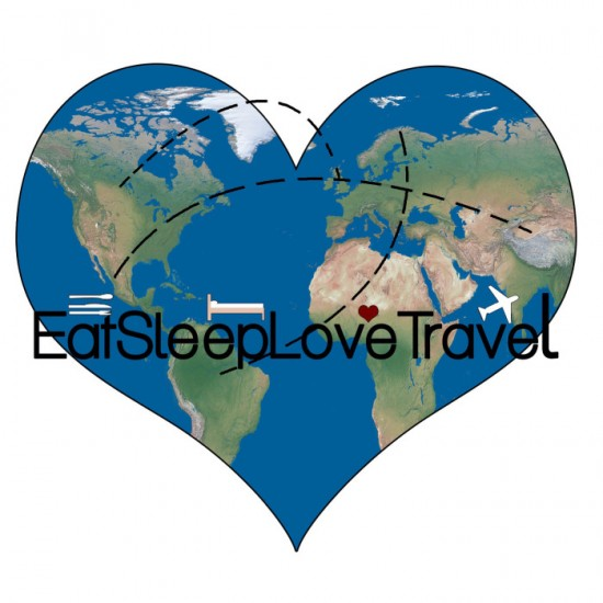 Eat Sleep Love Travel logo