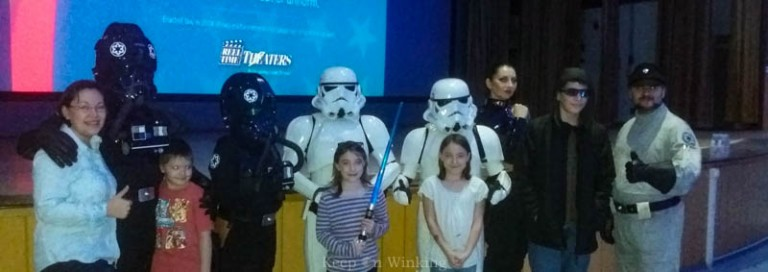 Star Wars The Force Awakens Opening Night