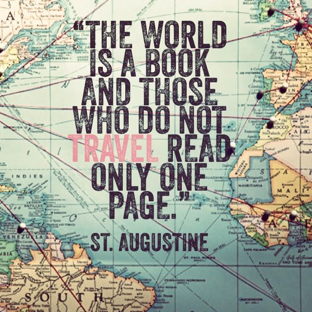 The world is a book St Augustine